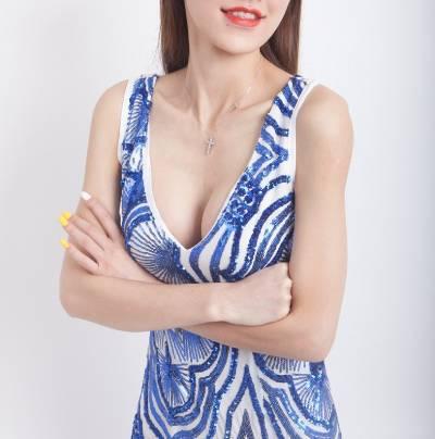 在广州中科美找陈美运做假体隆胸手术后50天