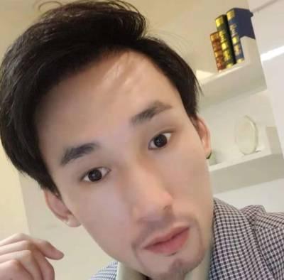 去广州倍生植发医院找廖骏医生做了胡须+鬓角种植手术后