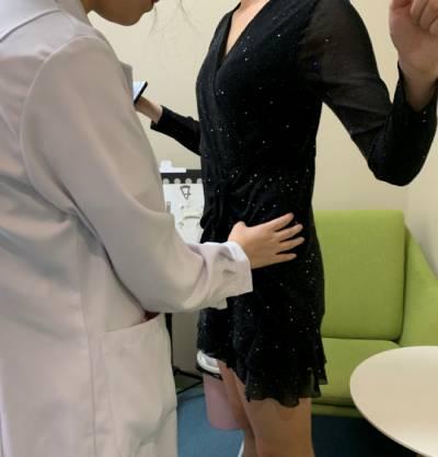 在广州瑞港医疗美容门诊部找黄其然做吸脂瘦腰腹手术后7天