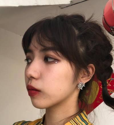 去广州积美医疗整形美容医院做了面部埋线提升手术后7天