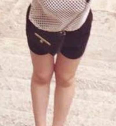 萧湘的吸脂瘦大腿术前照