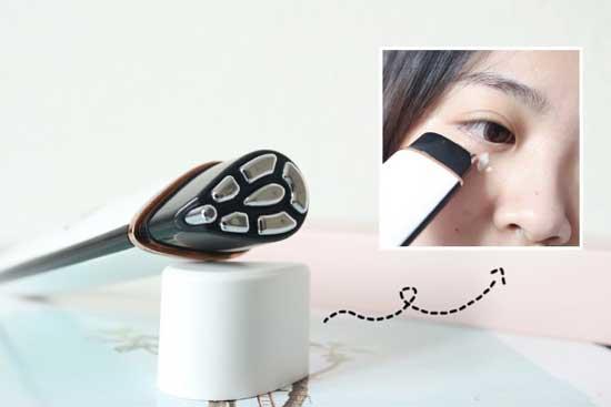 射频去眼袋操作过程