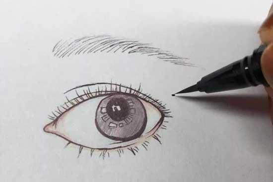 外眼角开大了如何修复