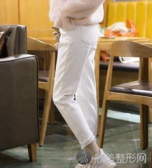 天津市北里整形医院吸脂术案例分享,两周就变筷子腿,恢复效果杠杠的