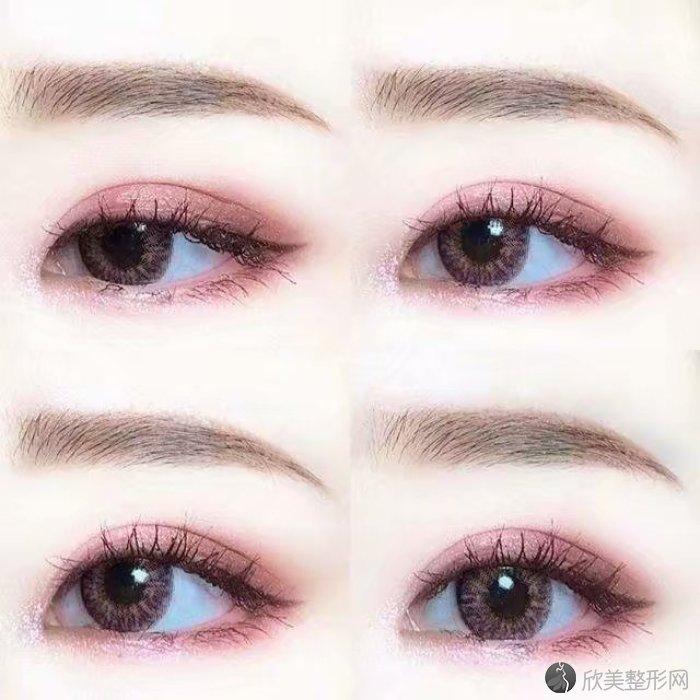 精致的眼妆让你瞬间变为女神~