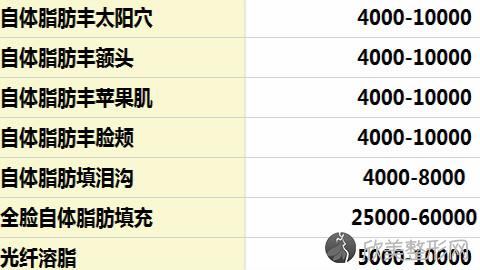 上海九院曹卫刚自体脂肪填充好不好?内附最新整形优惠价格表