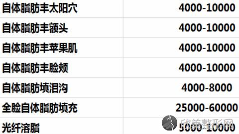 北京禾欣医疗孙德利脂肪填充专家怎么样?脂肪填充案例及价格表!