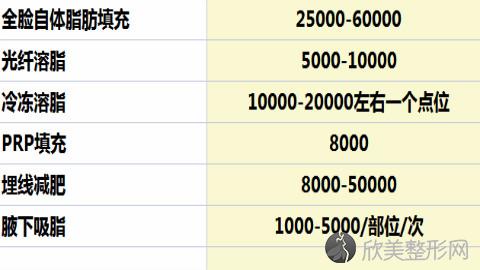 北京八大处李发成脂肪填充面部怎么样?脂肪填充案例及价格表